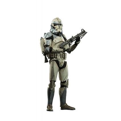 amazon com star wars sideshow wolfpack clone trooper 104th