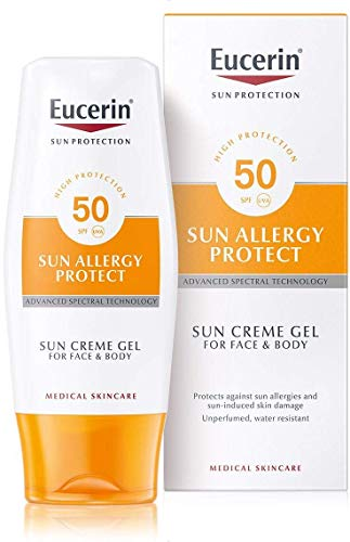 Eucerin Sun Allergy Protection Creme-Gel Spf50 (Best Sun Protection For Sensitive Skin)