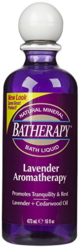 Batherapy Mineral Bath Liquid, Lavender, 16 oz ()