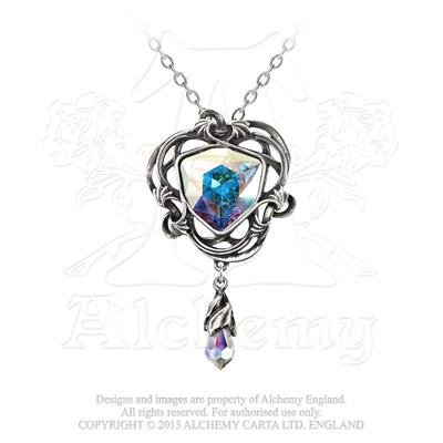 (Alchemy Gothic Empyrean Eye: Tears From Heaven Pendant)