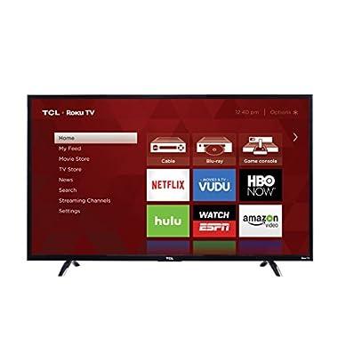 TCL 55UP130 55-Inch 4K Ultra HD Roku Smart LED TV (2016 Model)