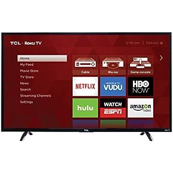 TCL 50UP130 50-Inch 4K Ultra HD Roku Smart LED TV (2016 Model)