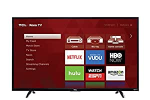 TCL 50UP130 50-Inch 4K Ultra HD Roku Smart LED TV (2016 Model)