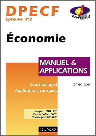 En ligne téléchargement Économie, DPECF numéro 2 : Manuel & Applications epub, pdf