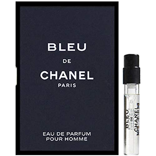 (BLEU DE C H A N E L Eau de Parfum 2ml/0.06oz Sample Spray For Men)