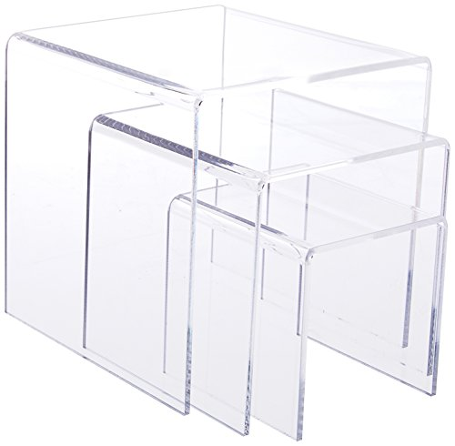 Clear Nested Acrylic Risers