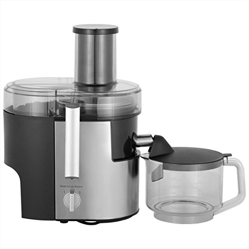 Panasonic MJ-DJ01S Juicer 1.5L 800W Juice Extractor, Stainless Steel, 220V (Non-USA Compliant)