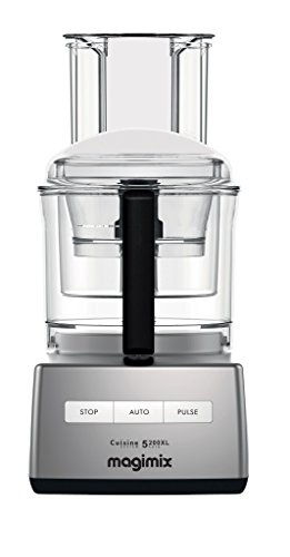 Magimix Food Processor 5200 XL by Robot Coupe (16 Cup, Chrome)