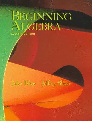 Beginning Algebra (4th Edition)