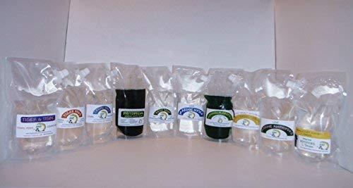 AQUACULTURE NURSERY FARMS Copepods Combo 4 Pack. Copepods, Amphipods, Nannochlgoldpsis Algae