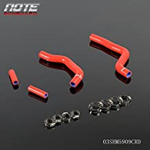 Silicone Radiator Coolant Hose Kit For KAWASAKI KX125 KX 125 05-07 Red
