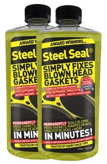 Steel Seal Head Gasket Sealer - 8 Cylinder Cars: Amazon co