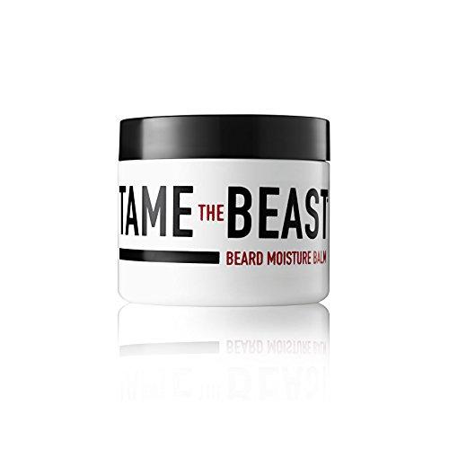 Beard Balm for Men - Moisturizing Leave-in Conditioner - Argan Oil, Sandalwood Oil, Vitamin E, Cocoa & Natural Oils of Jojoba, Eucalyptus, Coconut, Lavender, Cypress - by Tame the Beast