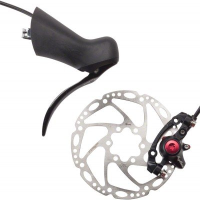 TRP Hylex Hydraulic Disc Brake system for Road Levers Rear Black 160mm Rotor by TRP (Image #1)