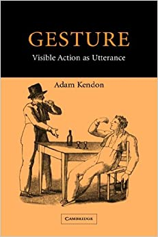 Book Gesture: Visible Action as Utterance