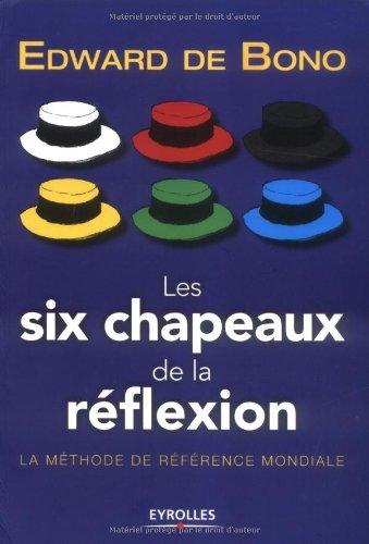 Amazon Com Les Six Chapeaux De La Reflexion La Methode De