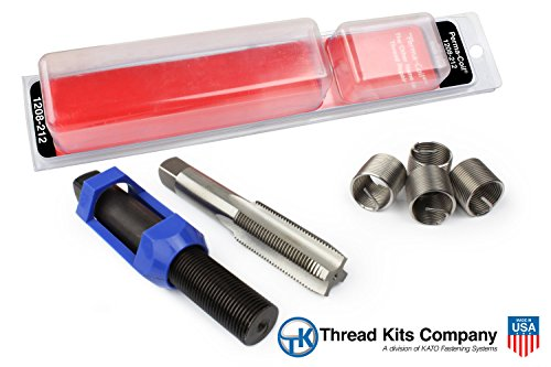 Perma-Coil 1208-212 Thread Repair Kit 3/4-16 4PC Helicoil 5402-12 (Perma Coil Kits)