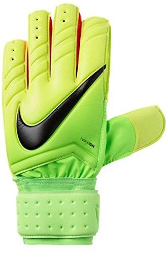 Nike GK Spyne Pro Soccer Goalkeeper Gloves (Sz. 9) Electric Green, Volt, Black