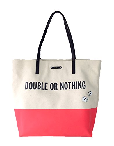 Kate Spade Double or Nothing' Bon Shopper Tote, Natural/G...