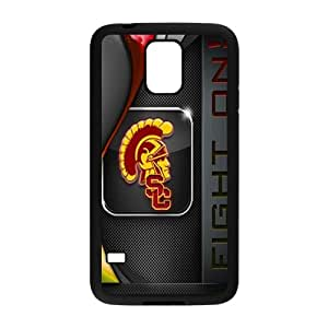 SKULL Usc Trojans Cell Phone Case for Samsung Galaxy S5