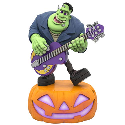 Hallmark Keepsake Halloween Ornament 2019 Monster Mash Collection Frank on Guitar,]()