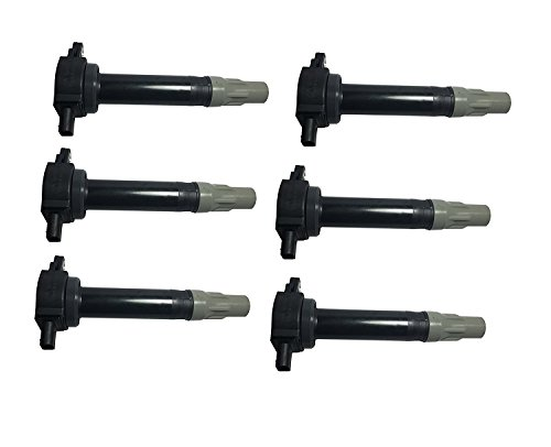 Dodge Ignition - Ignition Coil Pack Set of 6 - Fits Dodge, Chrysler V6 2.5L 2.7L 3.5L - Replaces# 4606869AA - Fits Dodge Magnum, Dodge Charger, Dodge Nitro, Challenger, Chrysler 300-2006, 2007, 2008, 2009, 2010
