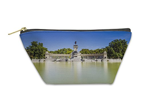 Gear New Accessory Zipper Pouch, Madrid City Spain, Large, 5600851GN by Gear New