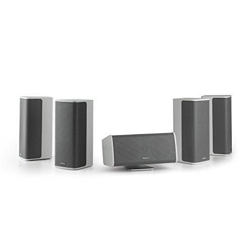 NUMAN Ambience 5.0 luidsprekersysteem – 5.0 surroundsysteem, home cinema-set, 4 x satellietluidsprekers, elk 60 W RMS…