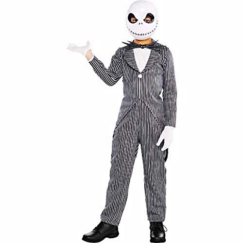 hallocostume boys jack skellington costume the nightmare before christmas halloween kids boys - Nightmare Before Christmas Halloween Costume