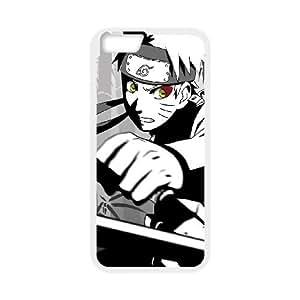 Anime Naruto Vs Sasuke Guys Postura Batalla 24,186 iPhone 6 4.7 pulgadas del teléfono celular funda blanca del teléfono celular Funda Cubierta EOKXLKNBC03379