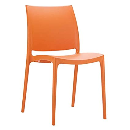 Clear Chair Store 025O Maya Indoor and Outdoor Stacking Chair (Set of 4), - Amazon.com : Clear Chair Store 025O Maya Indoor And Outdoor Stacking