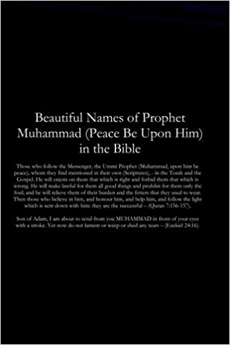 Beautiful Names of Prophet Muhammad (Peace Be Upon Him) in