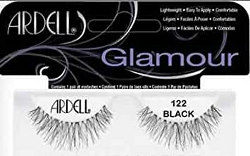 646658cae74 Image Unavailable. Image not available for. Color: Ardell Glamour Lashes  Eyelashes,122 Black ...