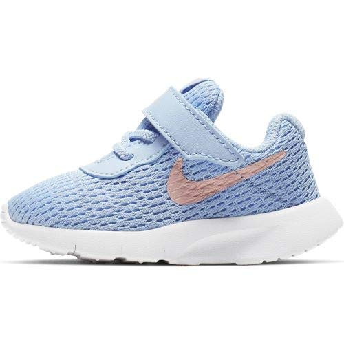 fashion style where can i buy really cheap Nike Girl's Tanjun (TD) Toddler Shoe Psychic Blue/Bleached Coral/White Size  9 M US