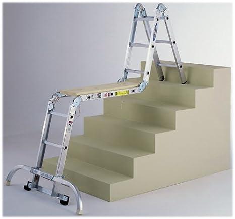 Werner M8 – 16 type1 a 300-Pound Multi-Master de aluminio escalera articulada: Amazon.es: Bricolaje y herramientas