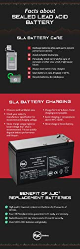 Dorcy Spotlight 41-1035 S L 6V 5Ah Spotlight Battery - This is an AJC Brand  Replacement