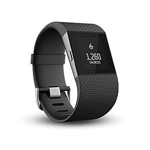 Fitbit Surge - Smartwatch, color negro, talla L