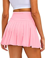 Stylezone Athletic Tennis Skirt Sports Skirt for Women with Pockets Pleated Athletic Golf Skorts Activewear for Workout