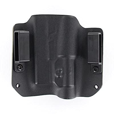 R&R Holsters: OWB Kydex Holster for Streamlight TLR-1, TLR-1S, TLR-1HL - 50+ Gun Models Available - Black