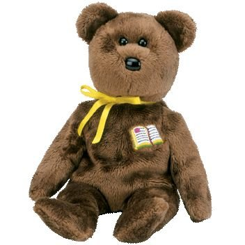 20f218d5ada Image Unavailable. Image not available for. Color  Ty Beanie Babies William  - Bear (Open Book Germany Exclusive)