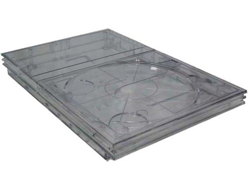 Ghost Clear Case - Crystal Clear Ghost Case for Ps2 Slim