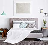 Utopia Bedding Premium Cotton Blanket Queen White
