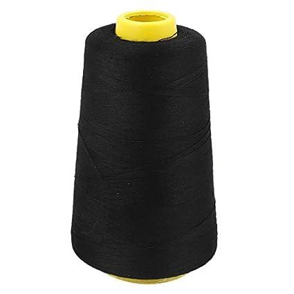 eDealMax Negro Adaptación de la máquina de Coser DIY de acolchar Tema Cadena carrete