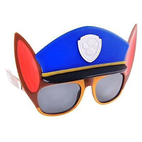 Costume Sunglasses Paw Patrol Chase Sun-Staches Party Favors UV400]()