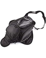 Motorcycle Gas Oil Fuel Tank Bag Waterproof Backpack & Magnetic Motorcycle Tank Bag for Yamaha Suzuki Kawasaki