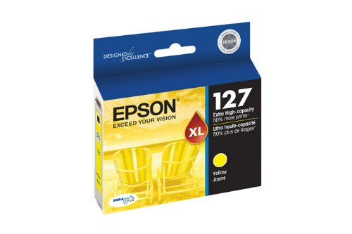 Epson DURABrite Ultra 127 Extra High-capacity Inkjet Cartridge Yellow ()