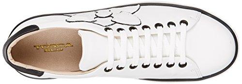 Blu Baskets Blanc Orchidea White C00 Femme Tosca q8dvnwSAq