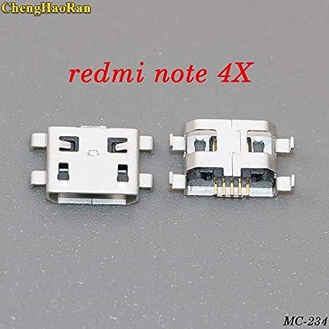 Ochoos 10 - 100 piezas Cargador Micro USB Puerto de carga ...