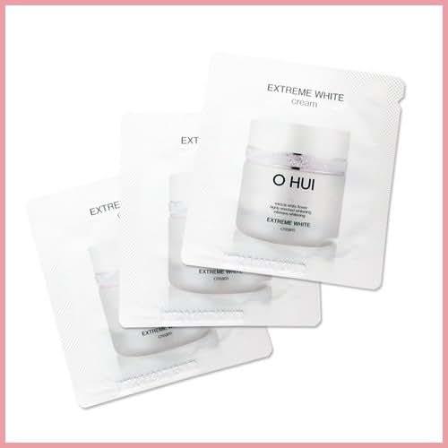[Sample size] OHUI EXTREME WHITE CREAM 20EA [Sample][TTBEAUTY]
