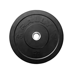 Rally Fitness Rubber Bumper Weight Plate 45 lbs.